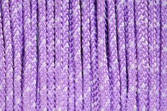 Purple Rope Royalty Free Stock Photography