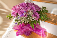 Purple Rose Bouquet Royalty Free Stock Photo