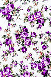 Purple Rose Fabric background, Fragment of colorful retro tapest Royalty Free Stock Photography
