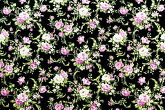Purple Rose Fabric Background, Fragment of colorful retro tapest Royalty Free Stock Photo