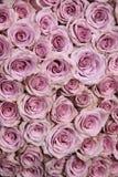 Purple rose wedding arrangement Royalty Free Stock Photo