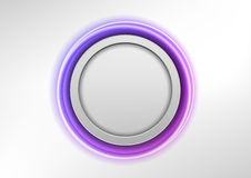 Purple round Royalty Free Stock Image