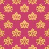 Purple royal pattern Royalty Free Stock Image