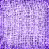 Purple sackcloth textured and background Stock Photography