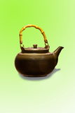 Purple sand teapot Stock Photo