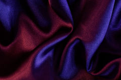 Purple satin. Closeup of the purple satin Royalty Free Stock Images