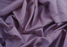 Purple satin Royalty Free Stock Image