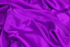 Purple satin Stock Photos