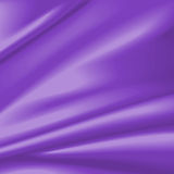 Purple satin in curtain pattern Stock Image
