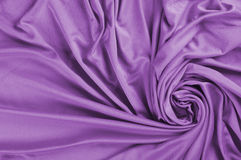 Purple satin fabric Stock Images