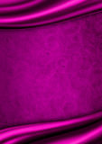 Purple satin fabric background Royalty Free Stock Image