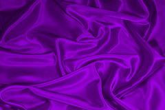 Purple Satin/Silk Fabric 1