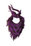 Purple scarf Stock Photography
