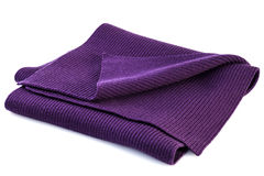 Purple Scarf Royalty Free Stock Photography
