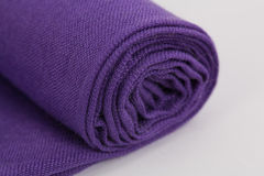 Purple scarf Stock Photos