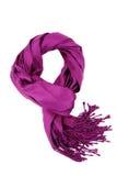 Purple scraf Stock Image