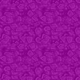 Purple seamless chaotic pattern background Stock Photos