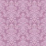 Purple seamless damask Pattern. Damask seamless pattern for design. Vector Illustration vector illustration