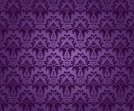 Purple seamless ornament Royalty Free Stock Image