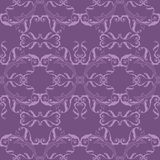 Purple seamless pattern. Purple seamless floral pattern Stock Images