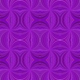 Purple seamless psychedelic geometrcial swirl stripe pattern background - vector burst design. Purple seamless psychedelic geometrcial swirl stripe pattern vector illustration