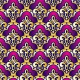 Purple seamless Stock Photography