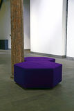 Purple seat Stock Photography