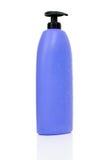 Purple shampoo bottle Royalty Free Stock Image