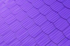 Purple shingles background Stock Photo