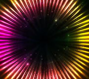 Purple shining cosmic lights abstract background Royalty Free Stock Image