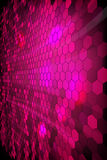 Purple shiny mosaic  background Royalty Free Stock Images
