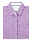Purple shirt Stock Images