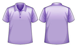Purple shirts Royalty Free Stock Photography