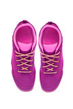 Purple shoes Royalty Free Stock Photos