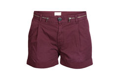 Purple Shorts Stock Photos