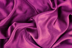 Purple silk Stock Images