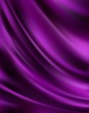 Purple Silk Background. Beautiful Purple Satin Fabric for Drapery Abstract Background Stock Photography