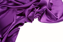Purple silk Stock Image