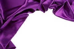 Purple silk Stock Photo