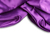 Purple silk Stock Photos