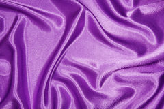 Purple silk cloth with folds Royalty Free Stock Image