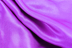 Purple silk fabric texture Royalty Free Stock Photography