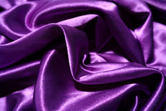 Purple Silky Background Stock Image
