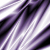 Purple Silky Fabric Stock Images