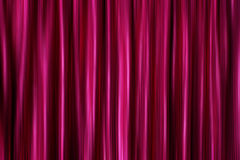 Purple silky satin curtains Stock Photo