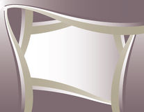 Purple silver background frame Royalty Free Stock Image