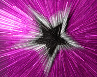 Purple silver black  star sparkling explosion Royalty Free Stock Photography