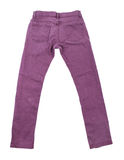 Purple slim male jeans Royalty Free Stock Images