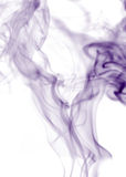 Purple Smoke Royalty Free Stock Images
