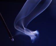 Purple Smoke. Abstract purple smoke on black Royalty Free Stock Photos
